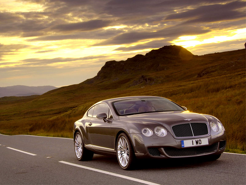 Обои на рабочий стол Bentley Continental GT Speed Coupe front 800x600