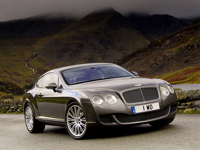 Обои на рабочий стол Bentley Continental GT Speed Coupe front1 800x600